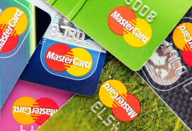 A lot of credit cards by MasterCard