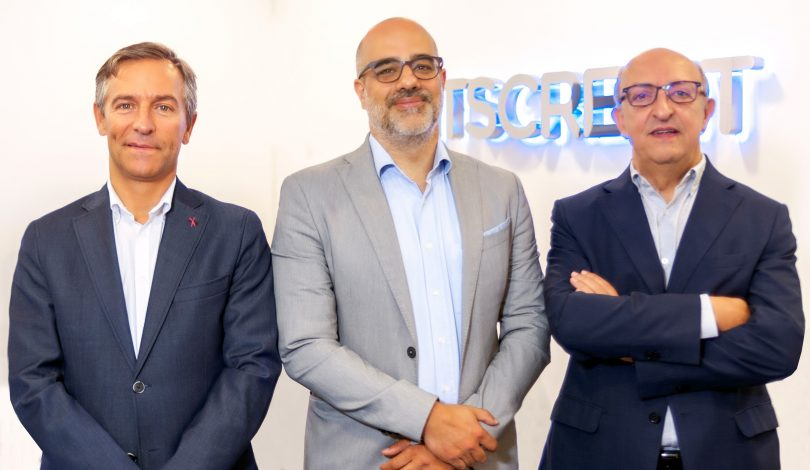 António Monteiro (Head Pre-sales and Delivery); João Lima Pinto (CEO); Jorge Brás (Head of Product)
